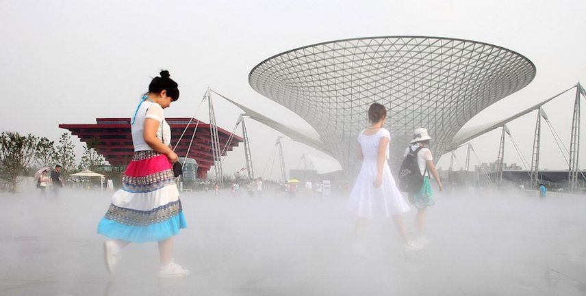 Record-high temperature recorded in Shanghai